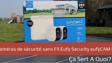 Photo de Anker eufyCam E : caméras de sécurité sans fil