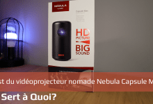 Photo de Test du vidéoprojecteur nomade Nebula Capsule Max
