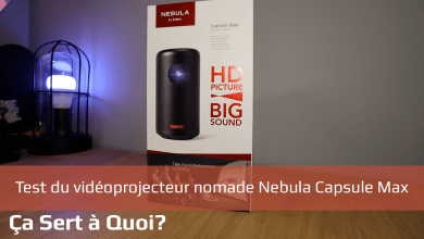 Photo of Test du vidéoprojecteur nomade Nebula Capsule Max