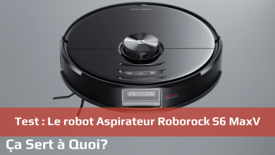 Photo de Test : Le robot Aspirateur Roborock S6 MaxV