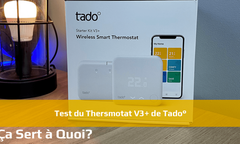 Photo de Test du thermostat V3+ de Tado°