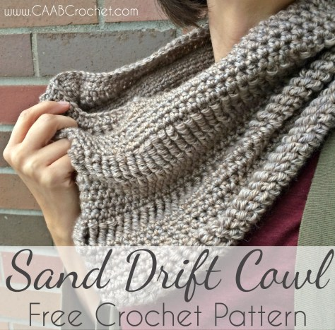 cowl pattern sand drift