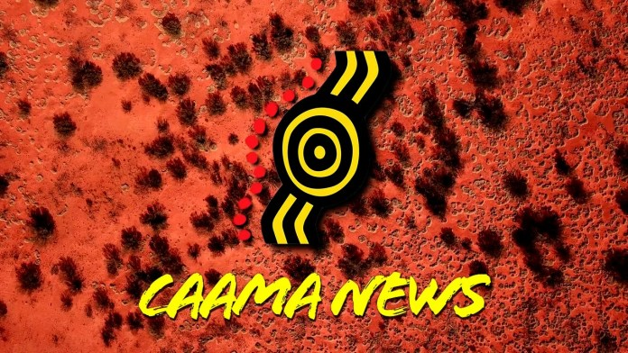 CAAMA News logo and title
