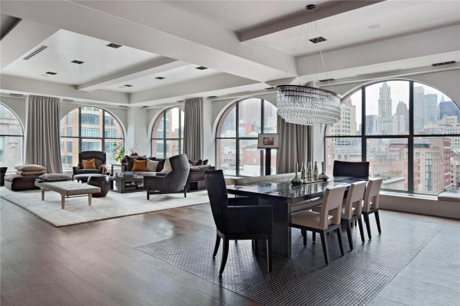 Spectacular 408 Greenwich Street Loft In Tribeca New York Apartments