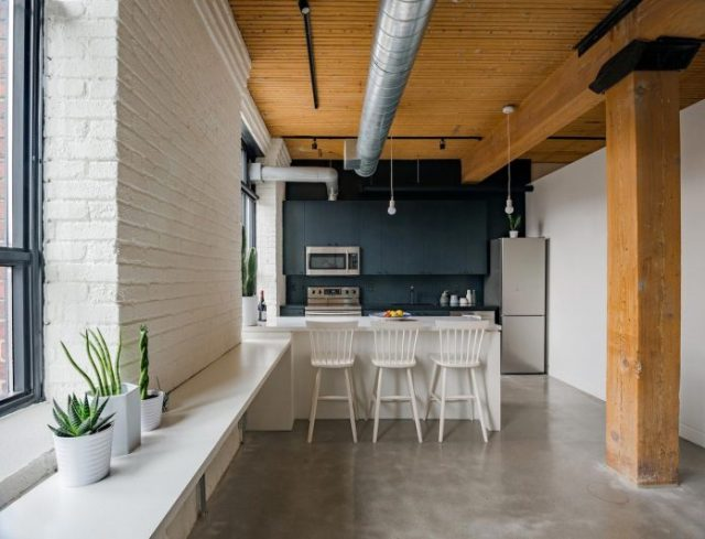 Loft in Toronto defined by uniqueness and functionality designed for a young professional