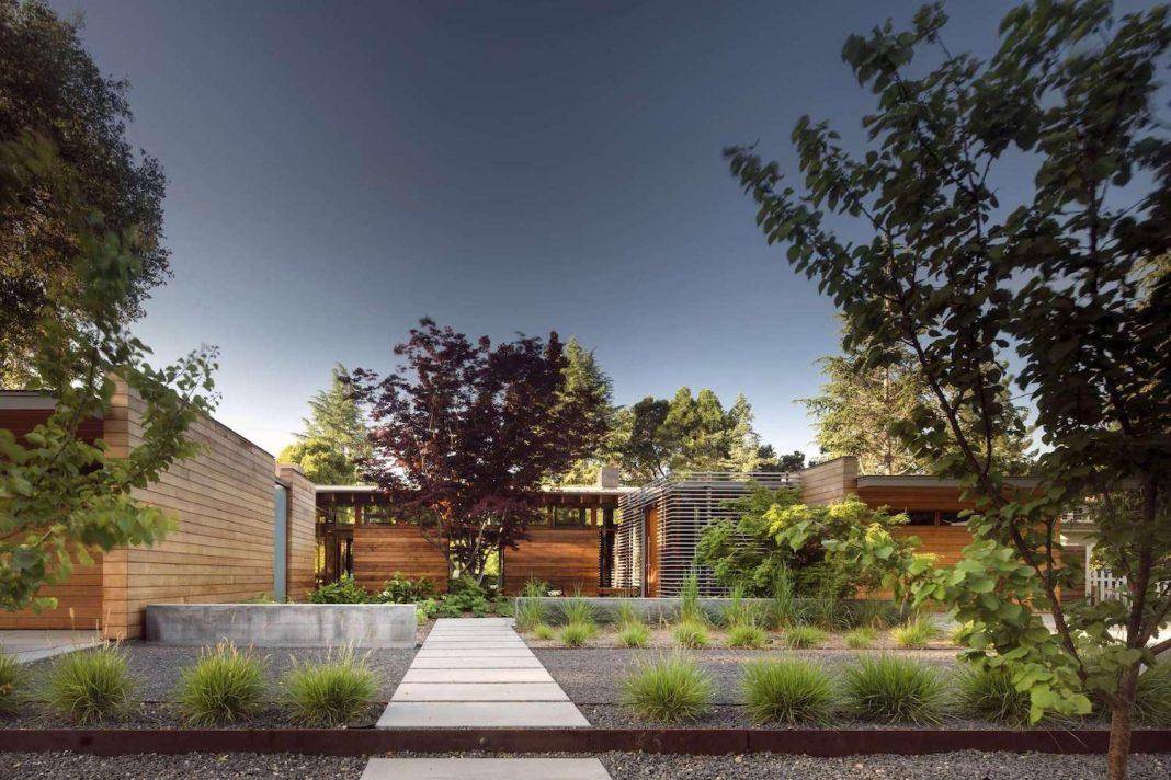 Modernist Reinterpretation Of The Northern California