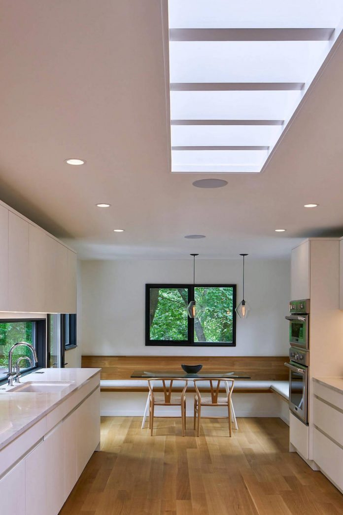Interior Renovation Of A Single Family Residence In The Forests Of Kalamazoo Michigan By