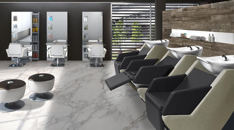 gv design - arredamento elegante per salone parrucchiere