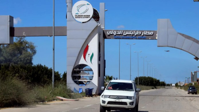 Ciidamada Jeneral KHALIFA XAFTAR oo laga qabsaday garoonka diyaaradaha Tripoli