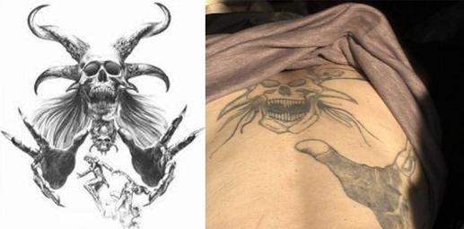 Original image used for creating the tattoo found by a Pakistani commenter.