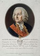 French Governor General Dupleix seriously damaged British influence in South India