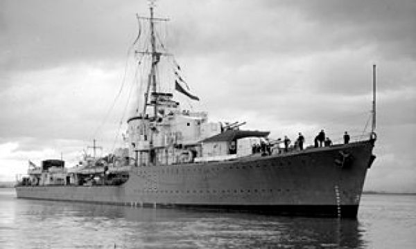 The Australian Destroyer HMAS Nizam