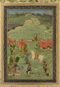 Mughal Emperor Aurangzeb in the Deccan (from what the landscape looks like).