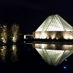 The Ismaili Center in Toronto. Note pyramid shape.