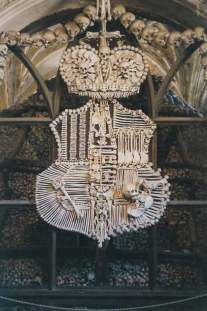 Schwarzenberg coat of arms, in human bone