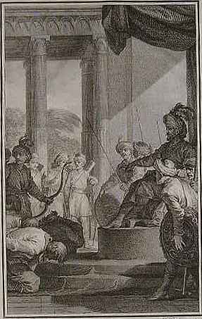 To make Aurangzeb lift the siege of Bombay Castle, British East India Company executives begged for his pardon while prostrating themselves before him. They also agreed to pay a huge indemnity, which was immediately delivered to the Mughals.