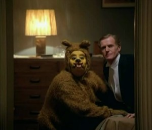 In one room of the Overlook Hotel (representing America), the feared Russian Bear is sighted, except that its on its knees before what appears to be an American banker. This confirms the notion established by writers such as Antony Sutton, who believed that the Soviet Union was a modern-day colony of private interests based in the West, not a loathsome competitor of the West.