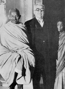 Agha Khan III with Mahatma Gandhi. If only Gandhi knew...