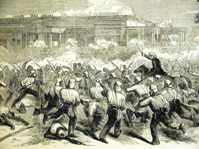 British soldiers in India