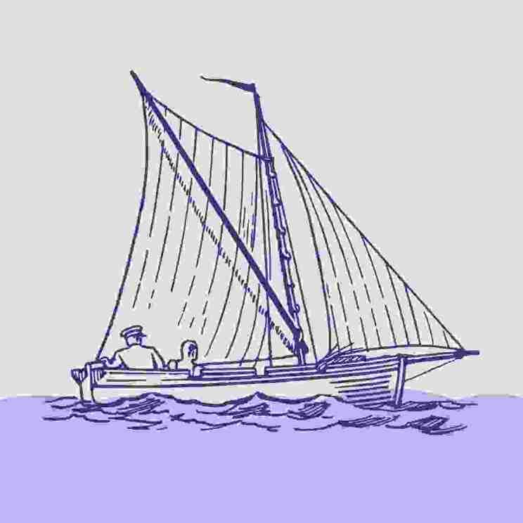 Boat illustration 6