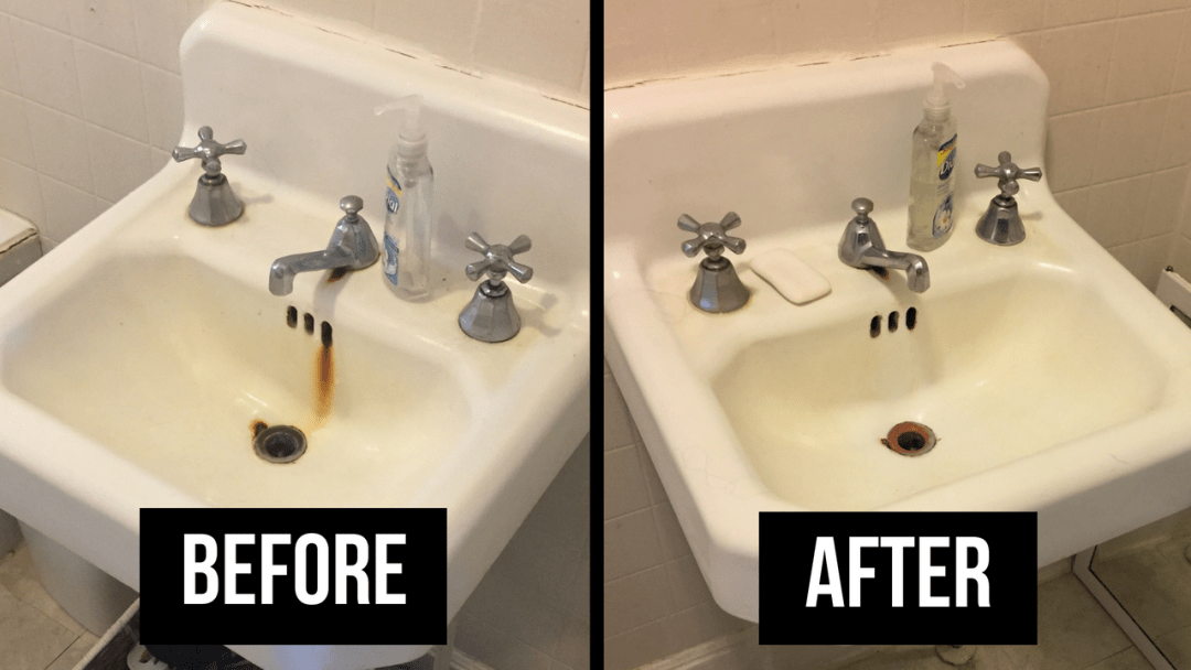 How To Remove Rust Stains From A Porcelain Tub Or Sink | Cabana ...