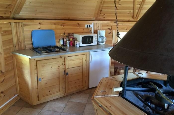 Cuisine Cabane Arbre Auvergne France