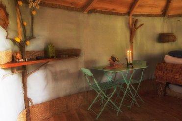 Intérieur de la cabane Pecheur