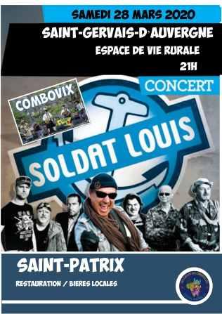 Concert SOLDAT LOUIS - Saint Patrix