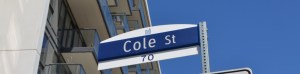 Cole Street sign