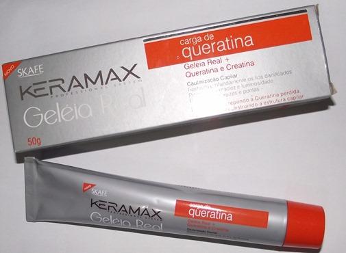 Carga de Queratina, da Keramax,