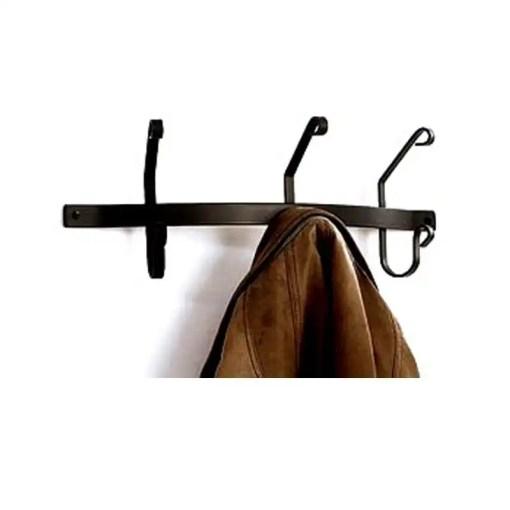 3 hook coat rack