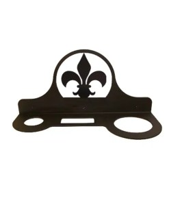 Fleur-De-Lis Hair Dryer Holder
