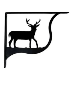 deer shelf brackets