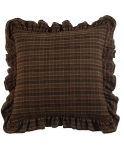 Plaid Ruffle Bed Sham