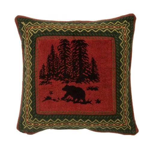 Wooded Bear Euro Bed Sham