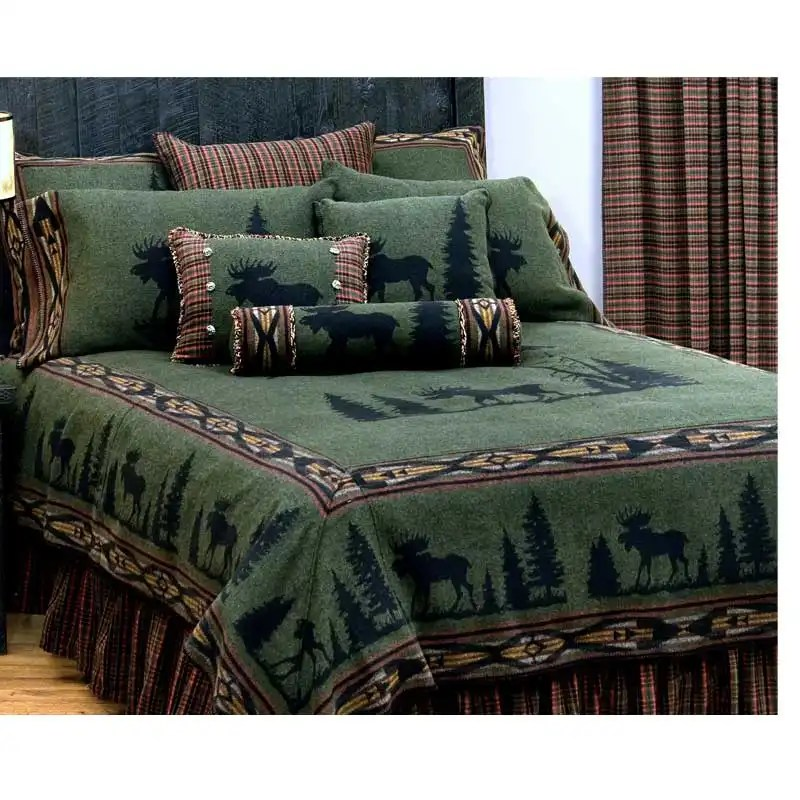 Moose King bedspread