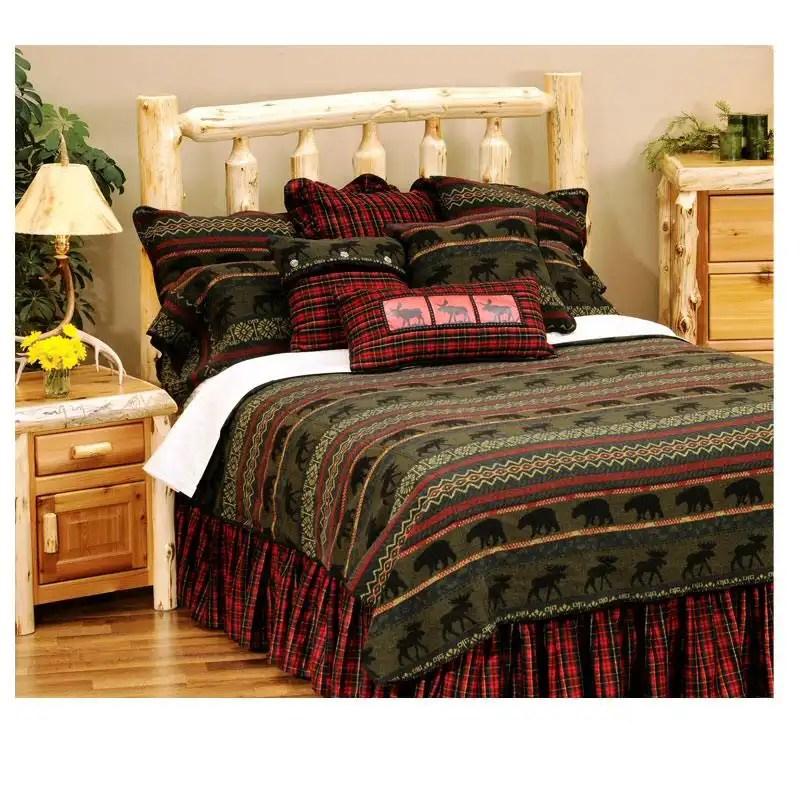 McWoods Cabin Twin Bedspread