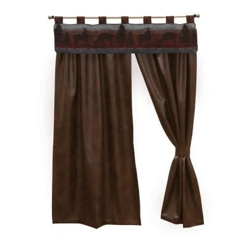 Deer Meadow Curtains Set