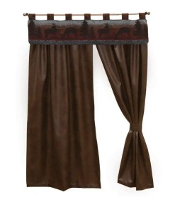 Deer Meadow Curtains Set