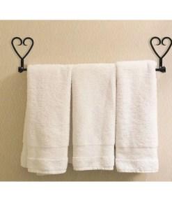 Heart Bath Towel Rack
