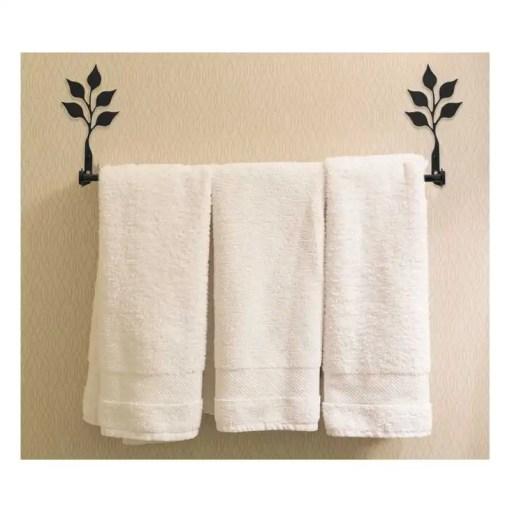 Leaf Bath Towel Rack