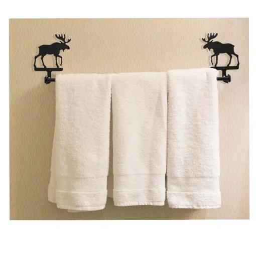 Moose Towel Rack