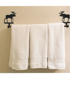 Moose Towel Rack