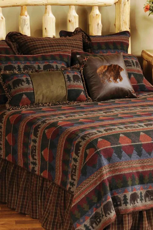 Cabin Bear Home Decor