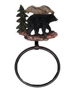 Bear Bath Towel Ring Holder