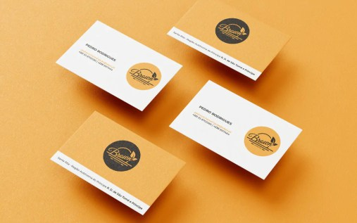 Business cards Brown