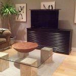 Flat Screen Tv Riser Accord Ebony Tv Lift Cabinets
