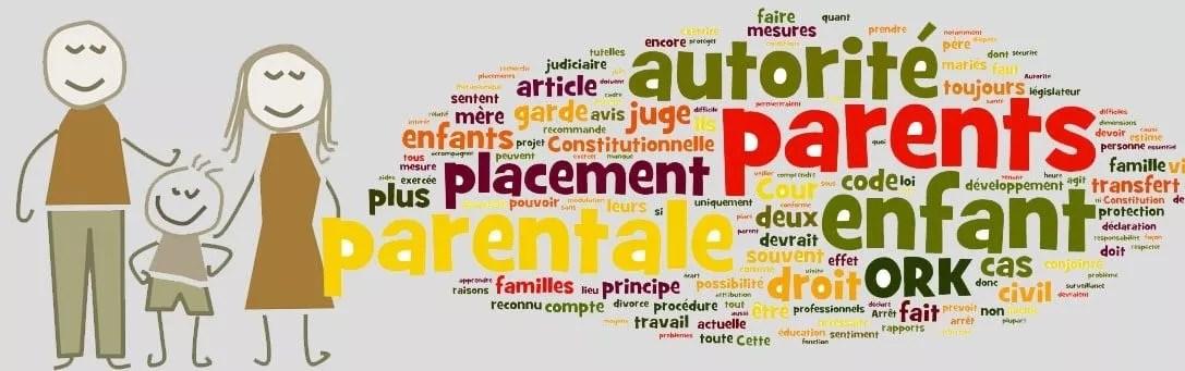 L'autorité parentale