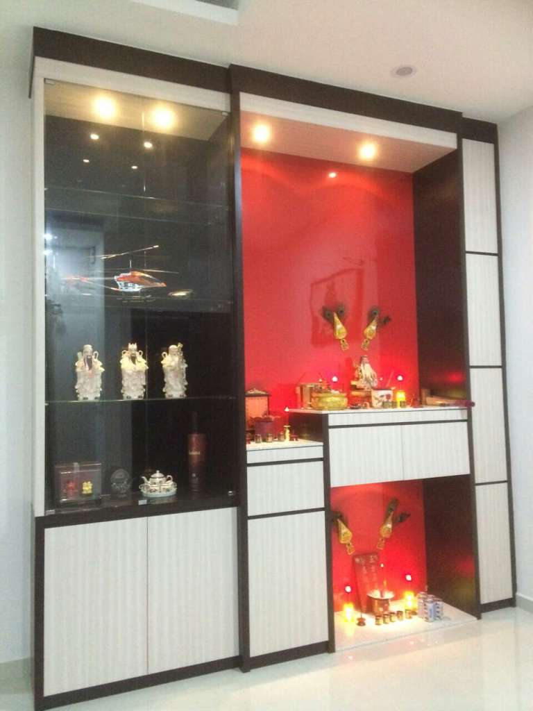 Altar cabinet malaysia peace of mind worship cabinet designs - Interior design living room cabinets ...