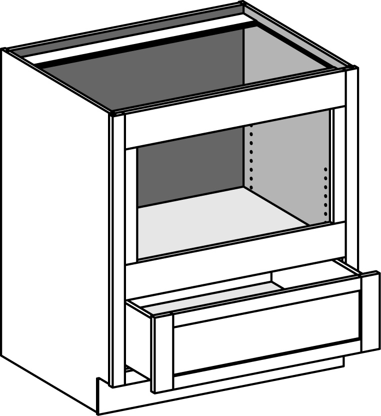 base integrated under counter microwave biucm csbiucm